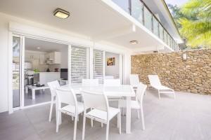 Moorea appart hotel vue terrasse jardin